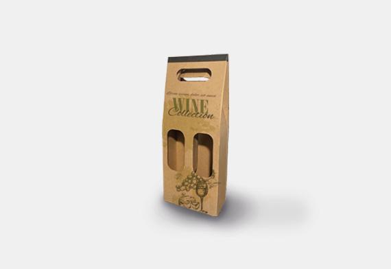 Embalagem Porta-Garrafas