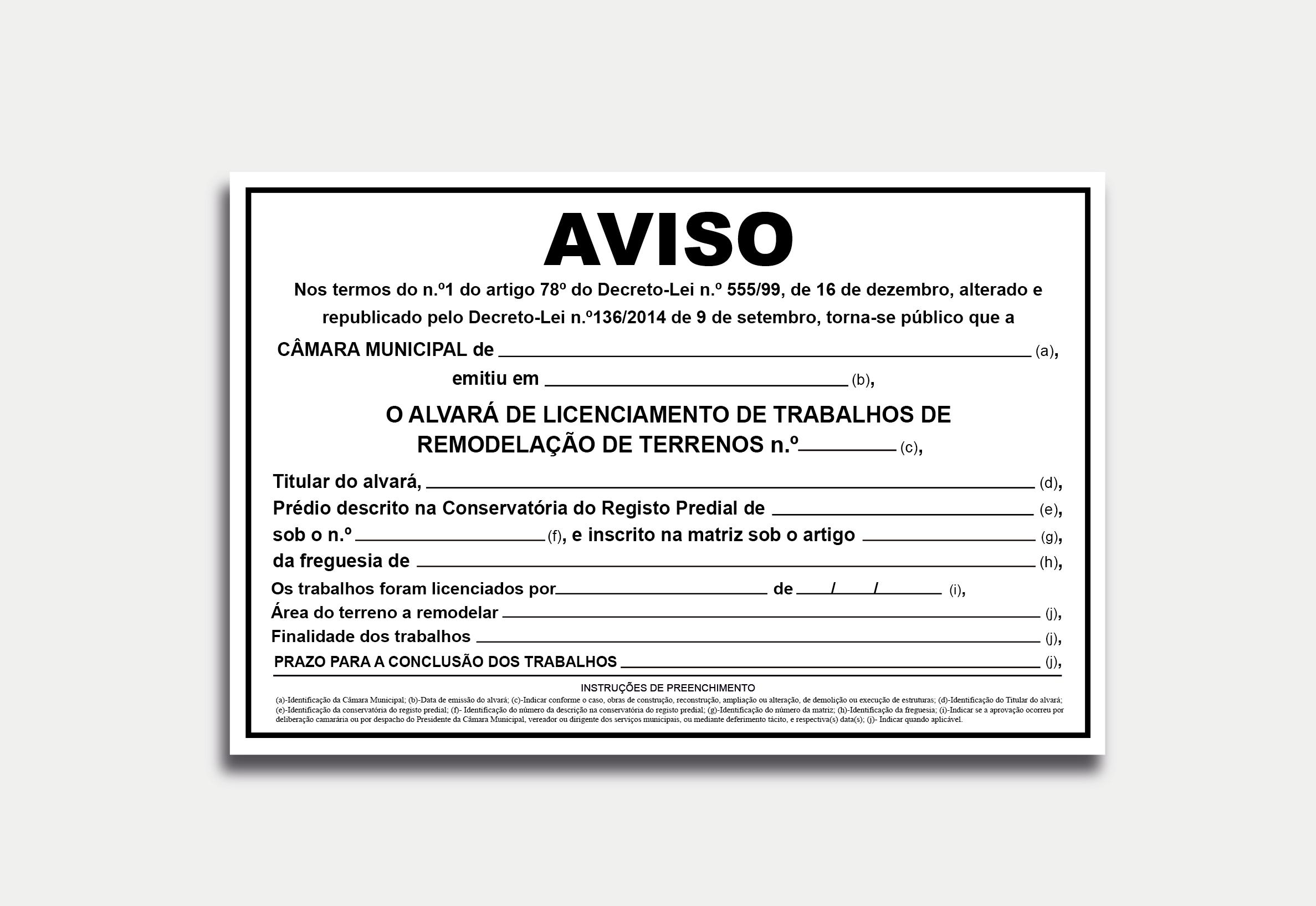 Licenciamento MOD-TER