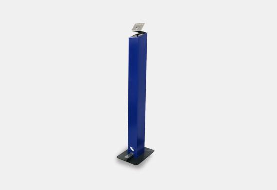 Dispensador Hands-free Azul